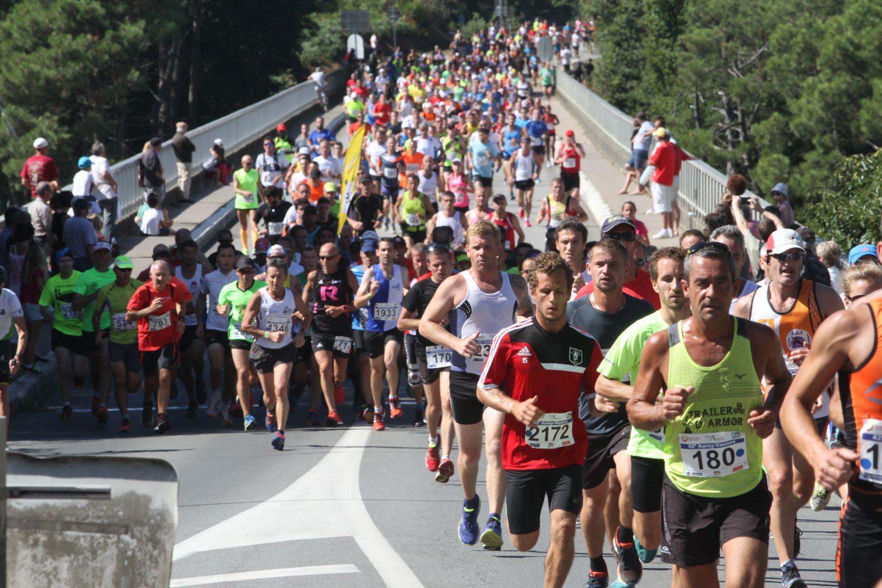 Informations semi marathon Auray Vannes